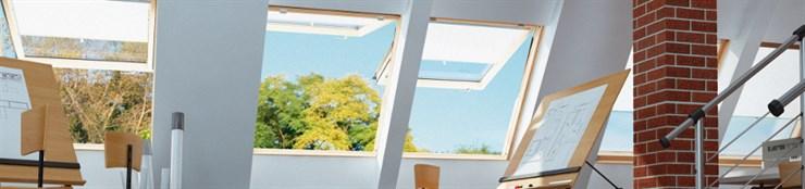 Окна для выхода на крышу жилых помещений FW, FEP