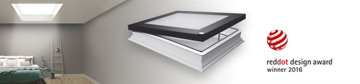 Окна для плоских крыш FAKRO D_F без купола