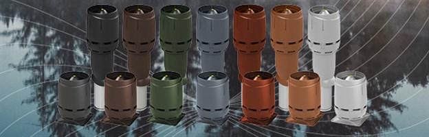 Крышные электрические вентиляторы VILPE