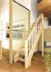 Деревянные интерьерные лестницы Лесенка