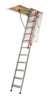 Металлическая складная чердачная лестница FAKRO LML Lux