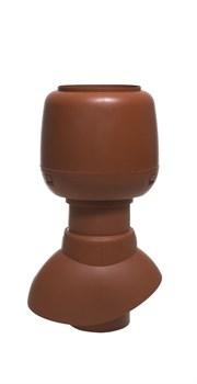 Выход вентиляции не изолированный VILPE Ø110 с колпаком-дефлектором. Высота 200 мм