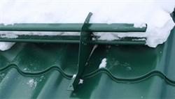 Снегозадержатель трубчатый для металлочерепицы