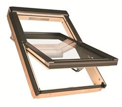 Среднеповоротное деревянное окно FTS-V U2 Стандарт
