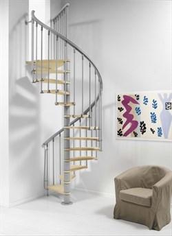 Винтовая межэтажная интерьерная лестница NICE 1