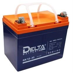 DELTA GX 12-33 (12В 33Ач)