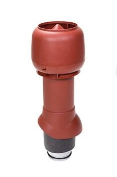 Выход кровельной вентиляции (вытяжки) VILPE P Ø125/160 h500 мм изолированный с колпаком-дефлектором