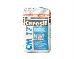 СМ 17/25 Ceresit. Высокоэластичный клей для плитки
