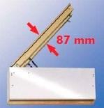 Термоизоляционный верхний короб (люк) LXW для чердачных лестниц MINKA (Минка)