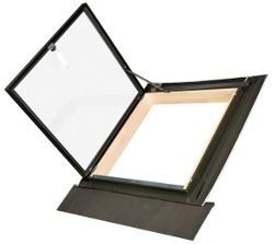 FAKRO WLI окно-люк распашное для выхода на крышу неотапливаемых помещений