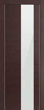 Дверное полотно TREND 405 Wenge Nuovo белое стекло