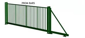 Ворота откатные FENSYS серии PROM BARS/ Фенсис Пром Барс