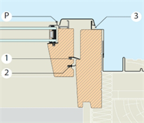 2-й контур уплотнения для мансардного окна FAKRO FTS U2