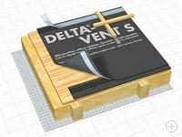 Трехслойная диффузионная мембрана Delta-Vent S Plus / Delta-Vent S