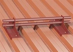 Снегозадержатель трубчатый BORGE для профнастила Н-60 и Н-75