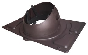 Проходной элемент KROVENT Base-VT General 125/150 для металлических кровель любого профиля высотой до 38 мм