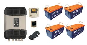 Резервная система электроснабжения на базе ББП Xtender 3,5 кВа + 4 АКБ по 200 А*час