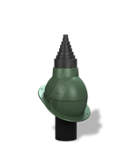 Антенный выход WirPlast NORMAL PA-23 D 19 - 90 мм с проходным элементом для фальцевой и готовой битумной кровли