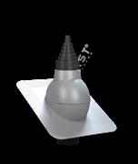WirPlast Антенный выход PA-21 D 19 - 90 мм для битумной кровли (при монтаже)