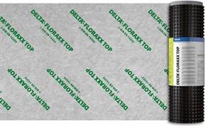 DELTA-FLORAXX TOP Дренажная мембрана высотой 20 мм с перфорацией и геотекстилем для зелёных крыш