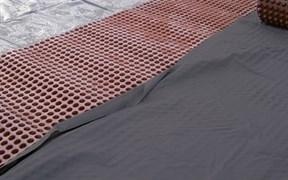 DELTA-DRAINAGEVLIES Нетканый геотекстиль для фильтрации и разделения слоёв