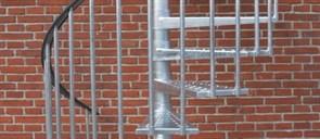 Dolle Toronto 155 см Уличная винтовая лестница