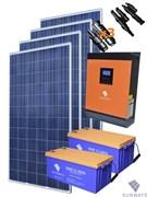 Санфорс 1280 Автономная солнечная энергосистема 2400 Ватт
