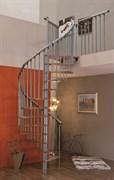 MINKA Spiral Effect Винтовая лестница ступени Серебристый