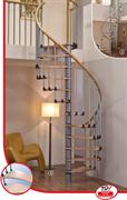 MINKA Wave Plus Винтовая лестница ступени из березы