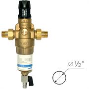 BWT Protector mini H/R HWS Фильтр для горячей воды с прямой промывкой и редуктором давления