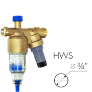 BWT AVANTI HWS Фильтр с редуктором и манометром