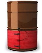 Обогрев бочек. Нагреватель промышленный электрический БН-100