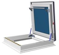 Окно - люк для выхода на крышу FAKRO DRF DU6 для плоских кровель без купола