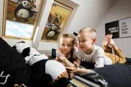 Шторы с полным затемнением ARF DreamWorks детская серия
