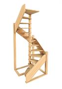 Деревянная межэтажная лестница ЛЕС-1,2ВУ