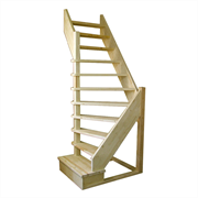 Деревянная межэтажная лестница ЛЕС-92У