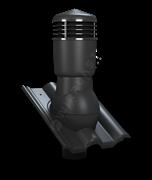 K57 TILE D 110 Комплект WirVent вентиляционного выхода с проходным элементом для натуральной черепицы изолированны