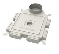 RENSON Easyflex D160 Распределительная коробка на 6 каналов вертикальное расположение