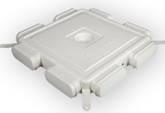 RENSON Easyflex Овал 8 Распределительная коробка на 8 каналов