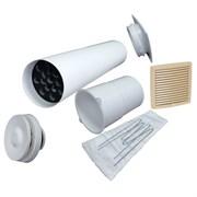 VILPE VELCO VT-100 VILPE Приточный клапан для домов и квартир с повышенным уровнем шума