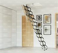 Металлическая раздвижная чердачная лестница OMAN NOZYCOWE