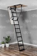Противопожарная металлическая чердачная лестница OMAN METAL T3 EI60