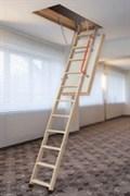 Суперэнергосберегающая чердачная лестница FAKRO LWT