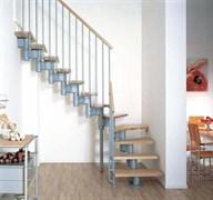 Модульная интерьерная лестница Arke Kompact