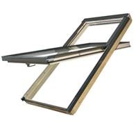 Мансардные окна с приподнятой осью поворота створки FAKRO FYP-V U3