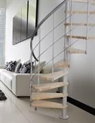 Винтовая межэтажная интерьерная лестница NOVO