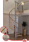 Винтовая лестница серии MINKA Venezia Buche (из бука)