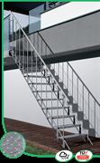Уличная маршевая лестница Sunstep