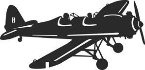 Флюгер большой 700х435 мм. Самолет