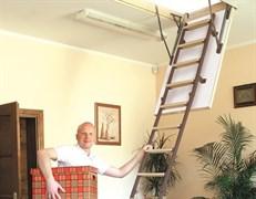 Металлическая чердачная лестница RADEX Stal Lux (Радэкс Сталь Люкс)